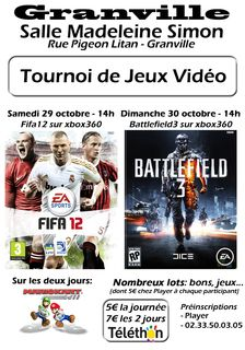 tournoi jeux video granville