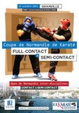 Coupe de Normandie de Karate full contact et semi sontact granville