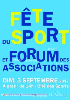 Fete sport forum associations Granville 2017