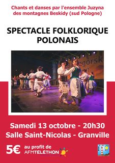 spectacle folklorique pologne juzyna
