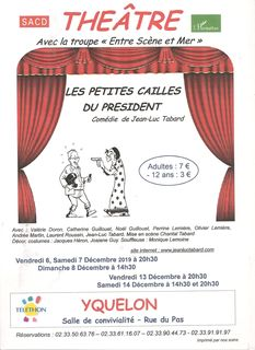 piece theatre yquelon petites cailles president comedie entre scene et mer tabard jean luc